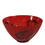 Astrakan Skål 21 cm Röd