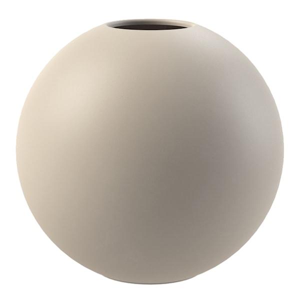 Cooee Ball Vase 30 cm Sand