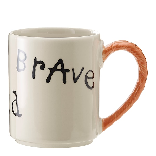 Pippi Anniversary Mugg 20 cl Strong Kind Brave