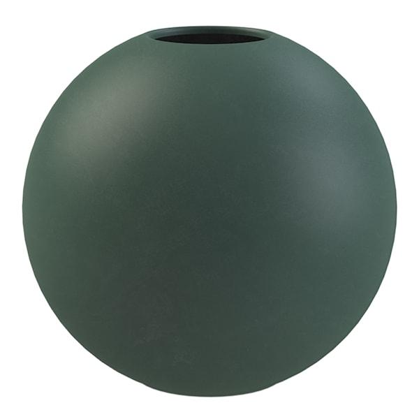 Cooee Ball Vase 8 cm Mørkegrønn