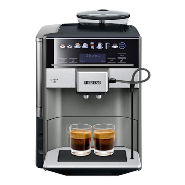Helautomatisk espresso/kaffemaskin EQ6 PLUS S500 Morning Haze